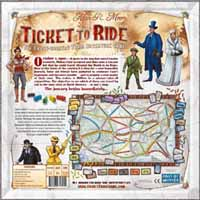 Ticket to Ride box reverse