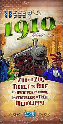 Ticket to Ride: USA 1910 board game