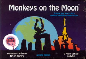 Monkeys on the Moon board game