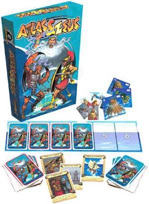 Atlas & Zeus board game