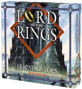 Lord of the Rings - Friends and Foes Expansion board game