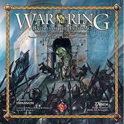War Of The Ring - Battles Of The Third Age Expansion