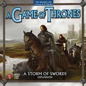 Game of Thrones: A Storm of Swords Expansion board game