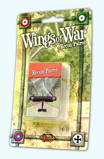 Wings of War: Recon Patrol board game