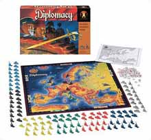 Diplomacy Game Board