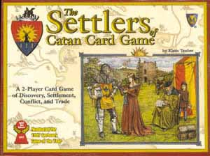 The Settlers of Catan Card Game board game
