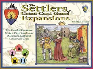 The Settlers of Catan Card Game Expansion board game
