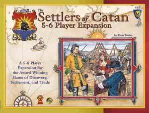 The Settlers of Catan: 5-6 Player Expansion board game