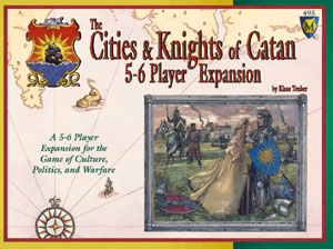 The Cities and Knights of Catan: 5-6 Player Expansion board game