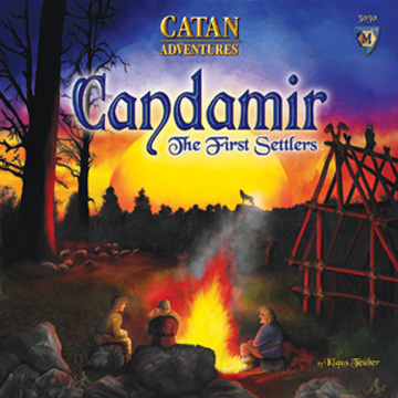 Candamir: The First Settlers board game