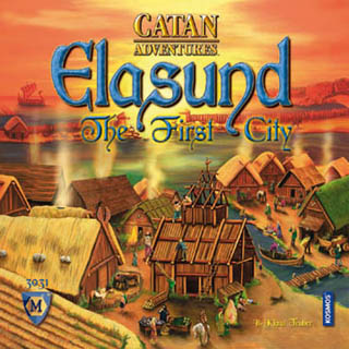 Elasund - First City of Catan board game