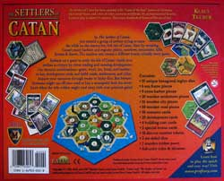 Settlers of Catan Game Board