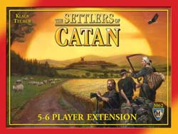 Settlers of Catan 4th Ed. 5-6 Player Expansion