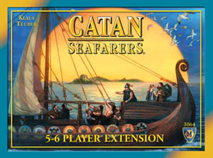 Seafarers of Catan: 5-6 Player Expansion board game