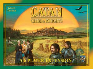 Cities and Knights of Catan: 5-6 Player Expansion
