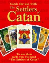 The Settlers of Catan - Replacement Cards board game