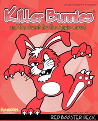 Killer Bunnies Red Booster Deck board game