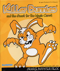 Killer Bunnies Orange Booster Deck board game