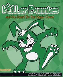 Killer Bunnies Green Booster Deck board game