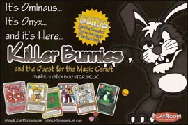 Killer Bunnies Ominus Onyx Booster Deck