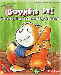 Gopher It! board game