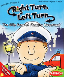 Right Turn, Left Turn board game