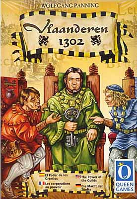 Flandern 1302 board game