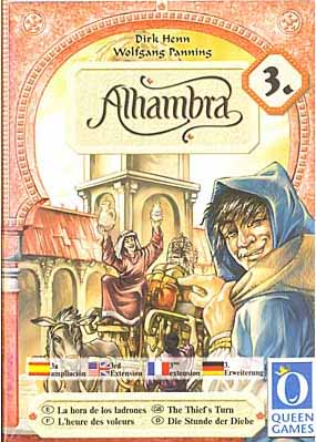 Alhambra: The Thief's Turn board game