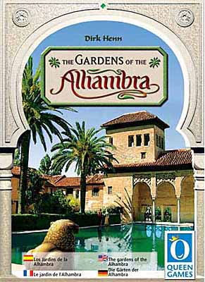 The Gardens of the Alhambra board game