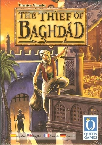 Thief of Baghdad board game