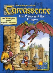 Carcassonne: Princess & Dragon