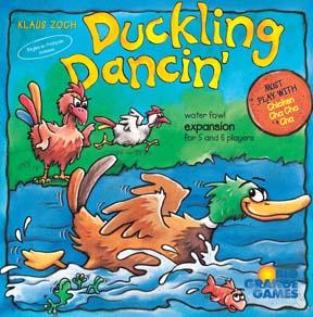 Duckling Dancin' board game