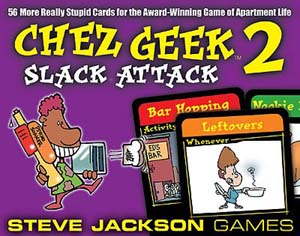 Chez Geek 2: Slack Attack board game