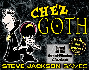 Chez Goth board game
