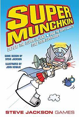 Super Munchkin board game