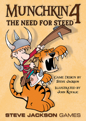 Munchkin 4: The Need For Steed board game