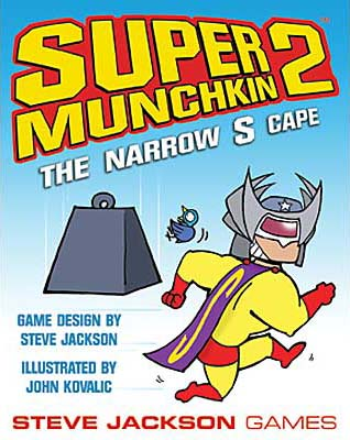 Super Munchkin 2: The Narrow S Cape board game