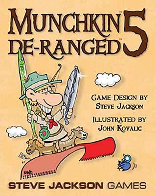 Munchkin 5: De-Ranged board game