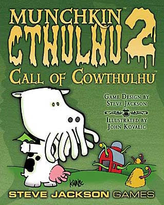 Munchkin Cthulhu 2: Call of Cowthulhu board game