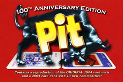 Pit 100th Anniversary Edition board game