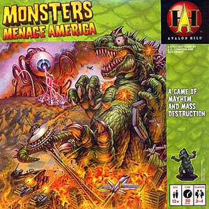 Monsters Menace America
